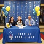 Dow Signs Her National Letter of Intent with Lander University