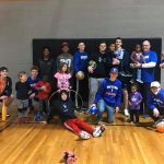 Blue Flame Boys Basketball Team Visits the Dream Center