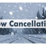 Due to inclement weather ALL AFTERNOON ACTIVITIES ARE CANCELLED!!!