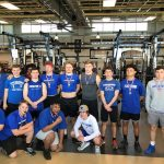 Blue Flame Weightlifters Place at the Region Strength Meet