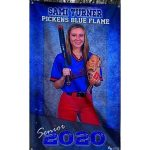Blue Flame Senior Softball Player Sami Turner