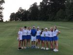 The Lady Blue Flame Golf Team Defeat Easley