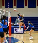 Lady Blue Flame JV Volleyball vs Walhalla Pictures