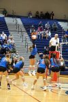 JV Lady Blue Flame Volleyball Defeats TR 2-0