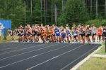 Blue Flame Cross Country Compete at the Hurricane Invitational