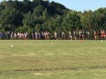 Blue Flame Cross Country Competes Well at Wren