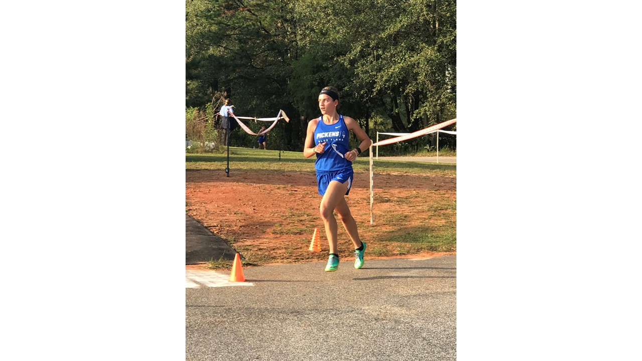 Saitta and Newman Finish 1-2 at Wren Cross Country Meet