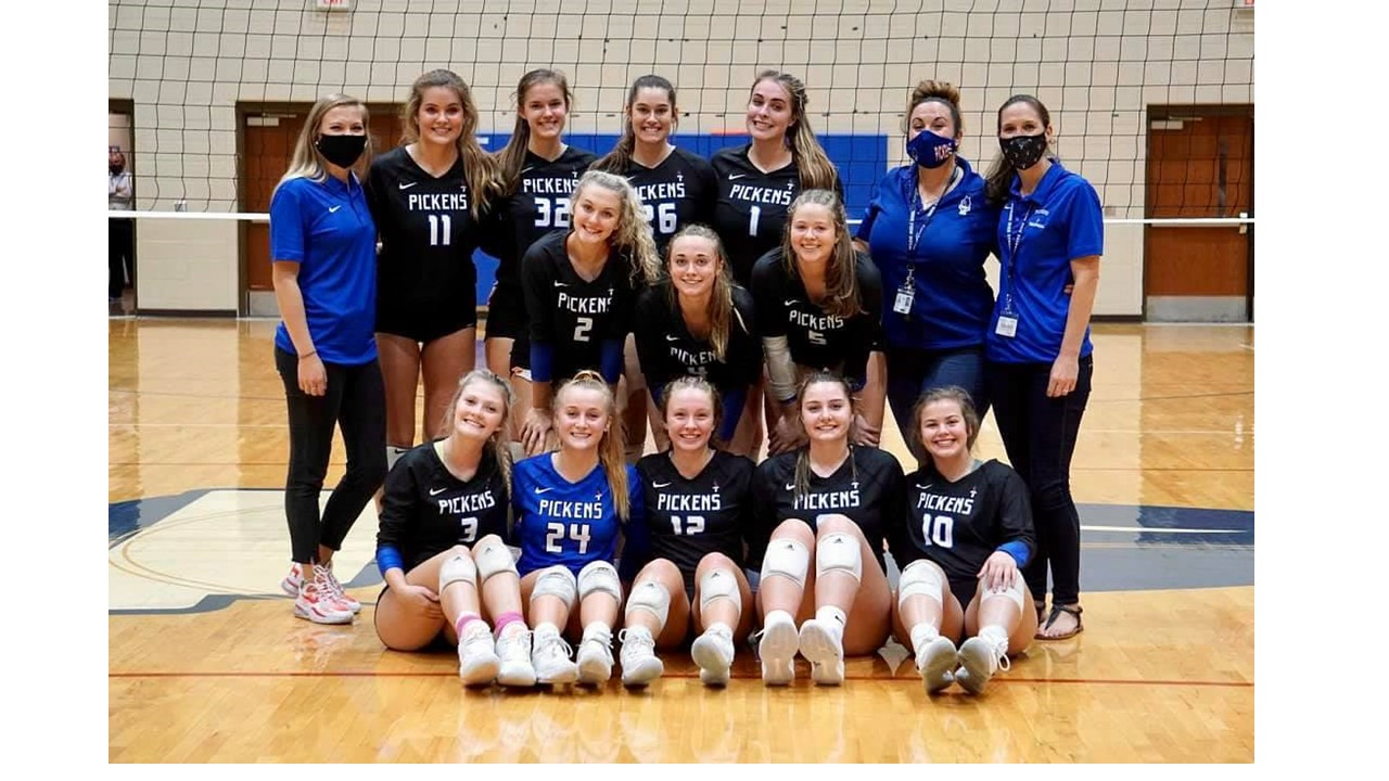 Blue Flame Volleyball Honored with All-Region Awards