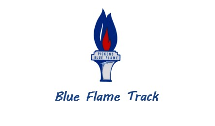 Blue Flame Track at Wren 4-13-21