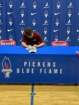 Austin Hall signs his NLI with Erskine University
