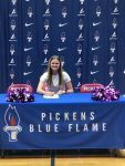 Abby Walsh Continues Her Cheering Career at Furman University