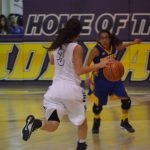 Anton High School Girls Varsity Basketball beat New Deal High School 31-30