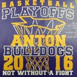 Order Basketball Playoff T-Shirts by Thursday, February 18 at noon