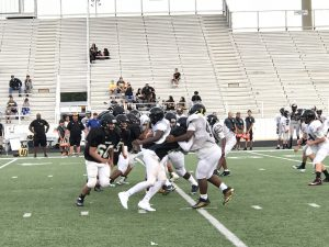 Freshman vs East Central Scrimmage 8/25/2017