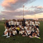 Wendell High School Girls Varsity Soccer beat vs Bliss School 2-1