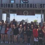 Softball Visits USC