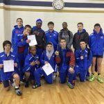 Freshman, JV Wrestlers Win City Championships