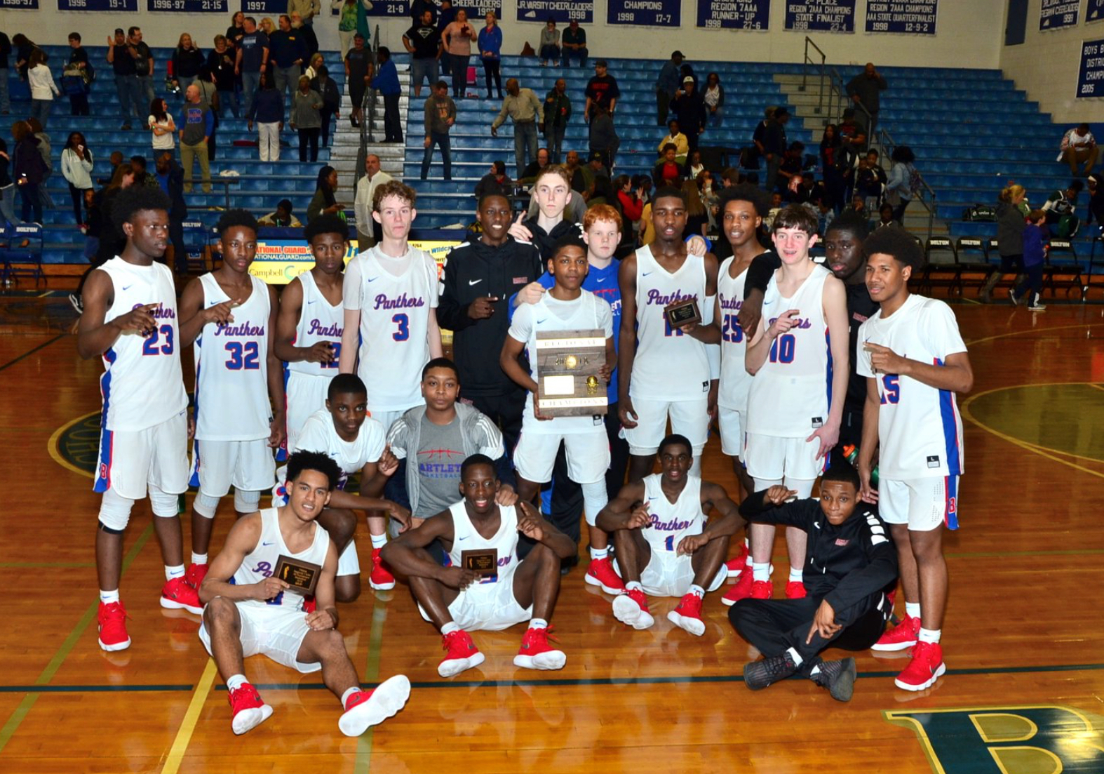 Panthers Earn Region 7-AAA Title in Thrilling 4 OT Win