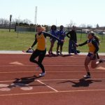 Track Teams Place Fifth and Sixth at Tipp
