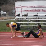 Aviators Fifth and Sixth at Warrior Relays