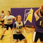 Girls' Basketball Begins Season 1-1