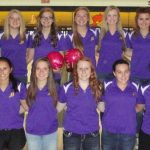 Butler Girls' Bowling Place 9th at Districts