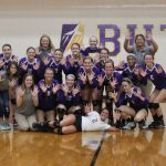 Girls' Volleyball Makes it 10 in a Row