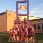 Girls' Tennis Sweeps Troy to Win Title