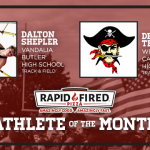 And the Rapid Fired Pizza May Athlete of the Month is….