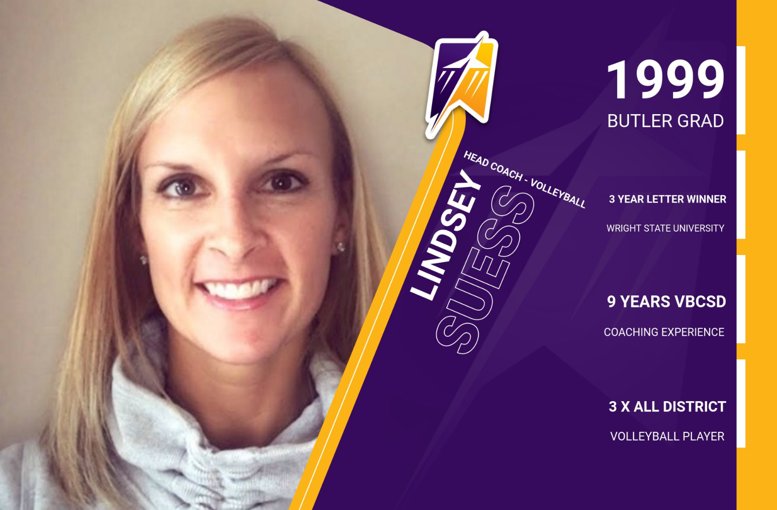 Suess Named New Volleyball Coach