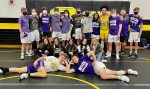 Wrestling finishes 1st place at MVL/Jim McCracken Duals