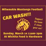 Support The Football Team & Get A Clean Car Too!