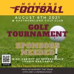 mustang football golf tournament