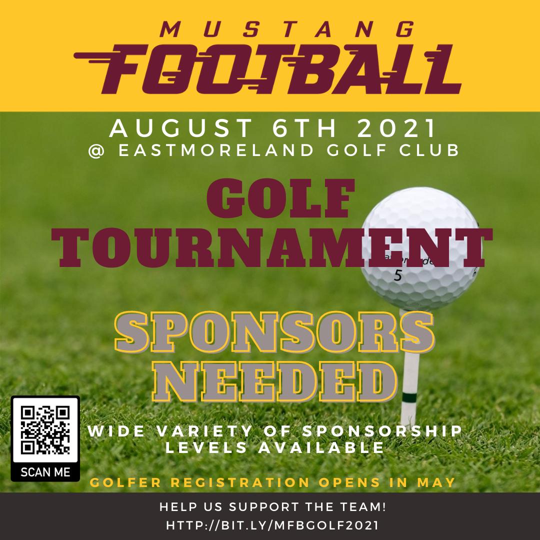 Inaugural Football Golf Tournament