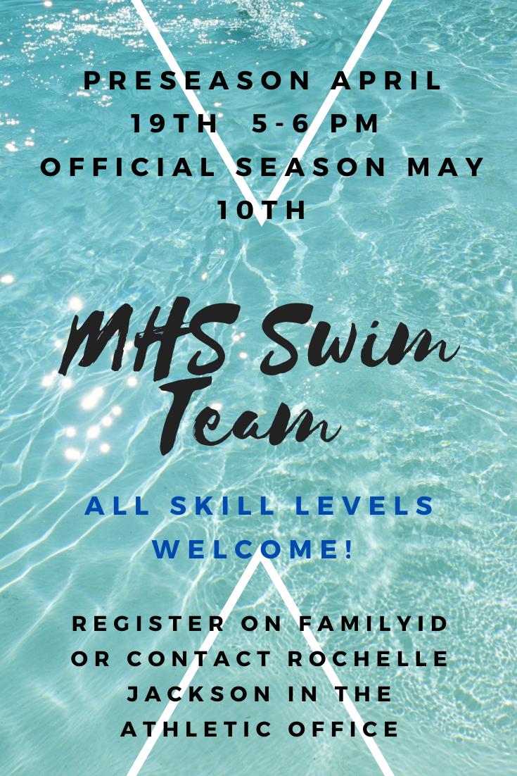 Join The Swim Team!
