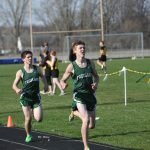Boy's Track Team Wins Two
