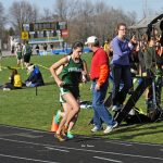 Girl's Track Wins Double Dual