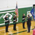 Varsity Volleyball Hosts Military Appreciation Night