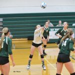 Volleyball Finishes Divisional Play, Districts Next