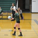 Volleyball Sweeps Home Quad