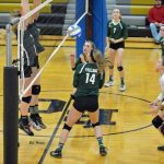 Varsity Volleyball Falls to Bullock Creek in District Action