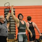 Wrestlers Compete At Districts-Niedzwiecki District Champion