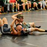Falcon Wrestling Splits at Home Quad