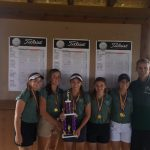 Girls Golf Finish #1 at Byron Invitational