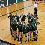 Varsity Volleyball Sweeps 1st Round of Districts
