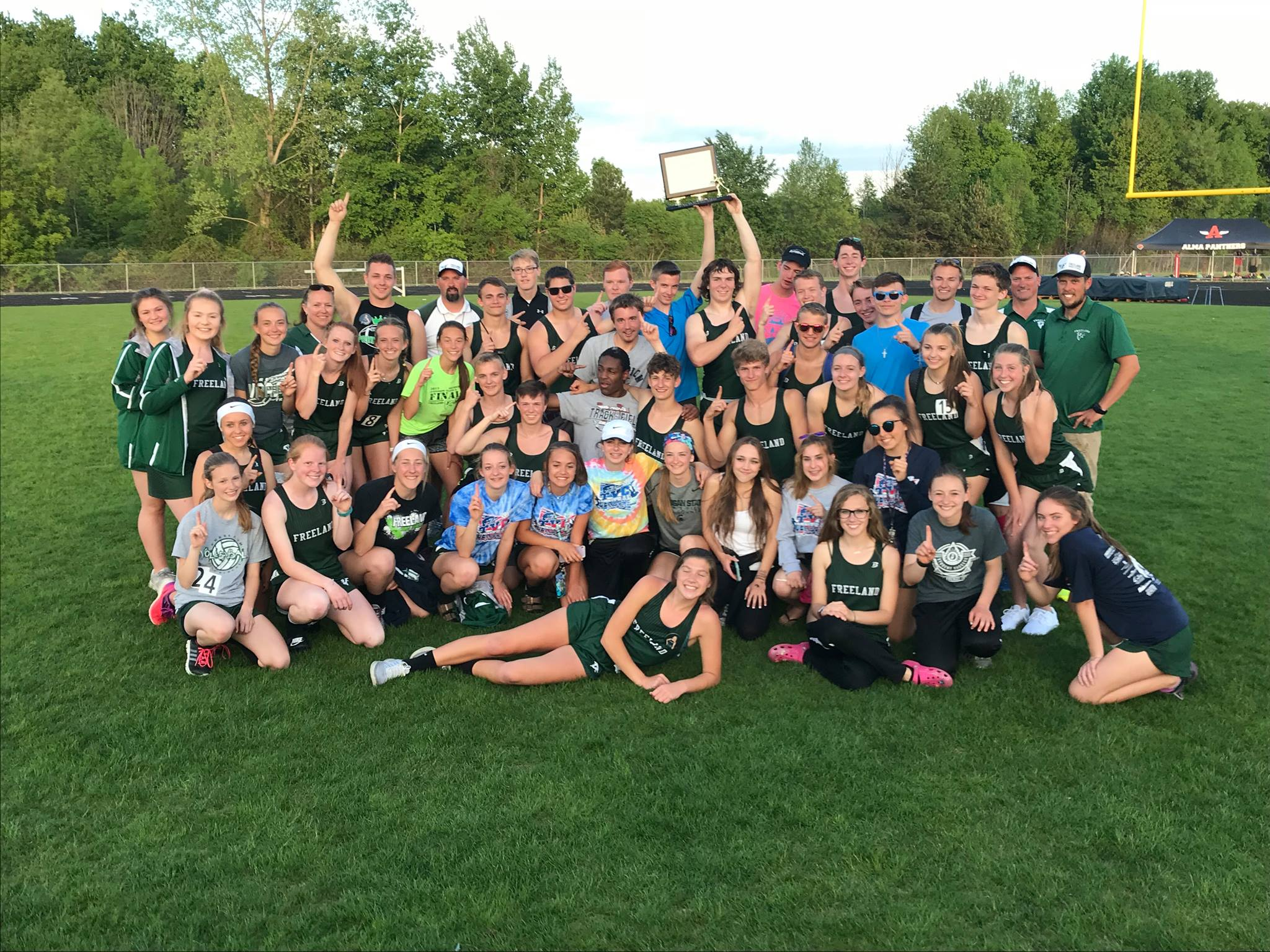 Track Teams Capture TVC Central Division Championships