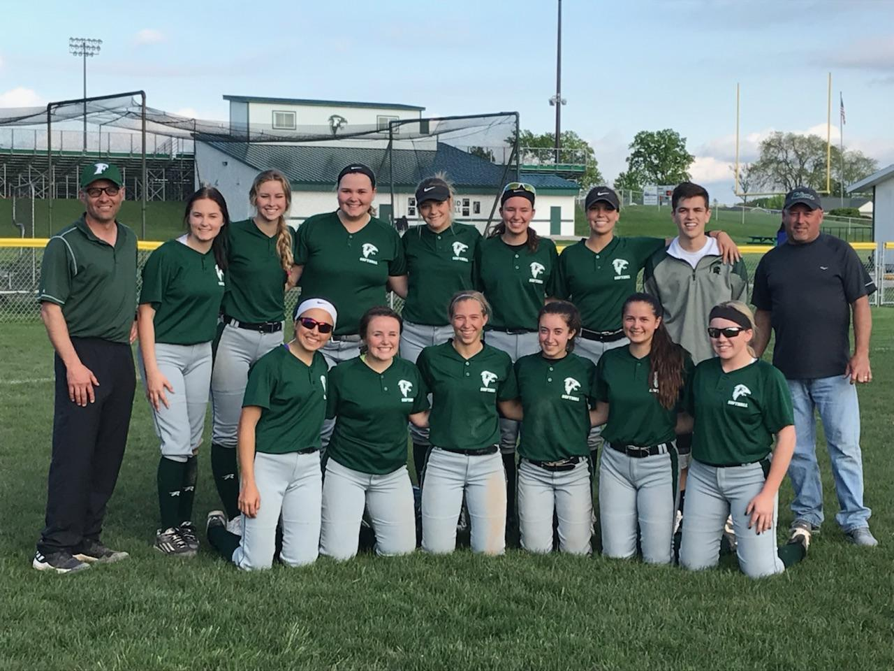 Softball Captures Share of TVC Central Championship