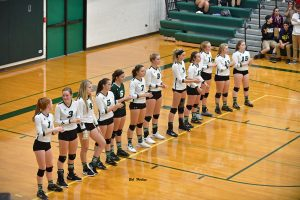 9-26-18 – VARSITY VOLLEYBALL – FREELAND (3) SWAN VALLEY (1)