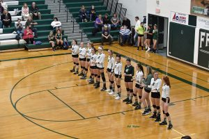 10-10-18 – VARSITY VOLLEYBALL – FREELAND (3) VS. STANDISH-STERLING (0)