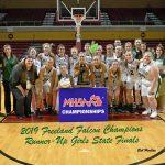 3-23-19 - GIRLS STATE FINALS - FREELAND (58) VS Detroit Edison (77)